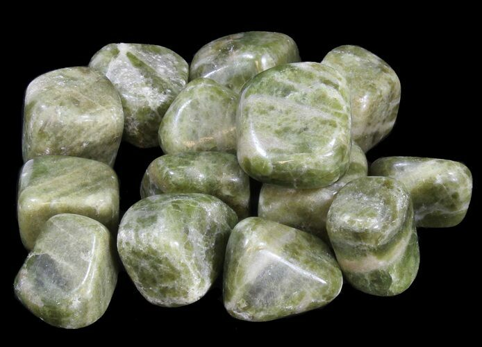 Bulk Polished Vesuvianite - 8oz. (~ 10pc.) - Photo 1