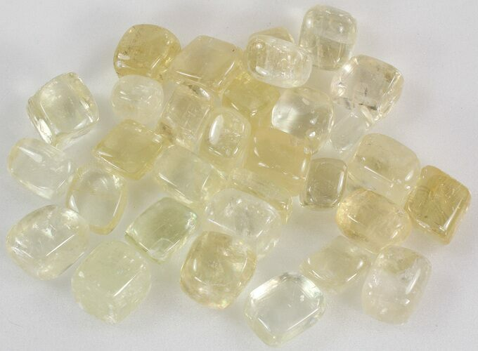 Bulk Premium Polished Yellow Calcite- 8oz. (~ 8pc.) - Photo 1