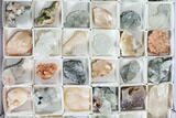Mixed Indian Mineral & Crystal Flats - 54 Pieces - Photo 7