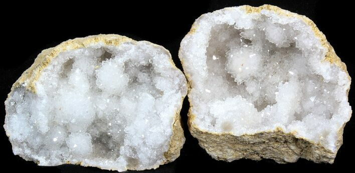 "Wholesale: 3-4"" Unopened Quartz Geode From Morocco - 50 Pack - Photo 1"