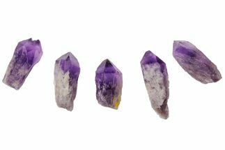 "1-2"" Natural, Amethyst Crystal Point - 1 Point"