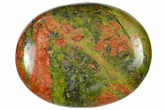 "1.8"" Polished Unakite Pocket Stone"