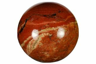 "1.2"" Polished Red Jasper Sphere"