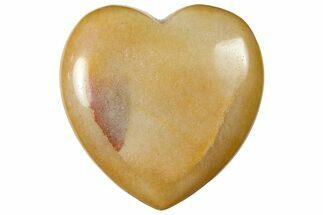 "1.6"" Polished ""Moonstone"" Heart"