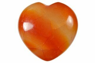 "1.4"" Polished Snakeskin Agate Heart"