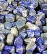 Bulk Polished Lapis Lazuli - 8oz. (~ 25pc.) - Photo 4