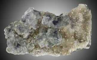 "Buy 3"" Fluorite and Quartz, Fujian Province, China - #31540"