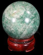 "Buy 2.25"" Aventurine (Green Quartz) Sphere - Glimmering - #32146"