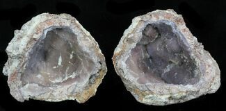 "3.4"" Crystal Filled Dugway Geode For Sale, #33188"