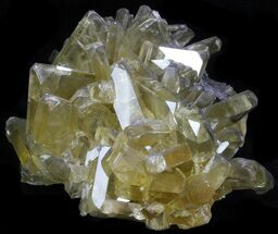 "4.1"" Gemmy, Bladed Barite Crystals - Meikle Mine, Nevada For Sale, #33713"