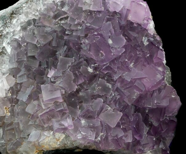 "5"" Cubic, Purple Fluorite Crystal Cluster - China"