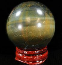 "Buy 1.7"" Polished Tiger's Eye Sphere - #37696"