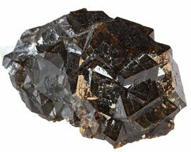 "1.6"" Garnet Cluster with Feldspar - Pakistan For Sale, #38714"