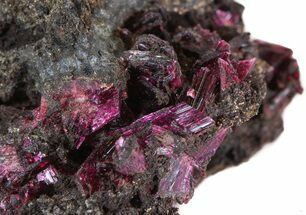 "2.0"" Magenta Erythrite Cystals on Matrix For Sale, #43199"