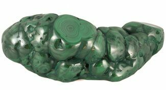 "4.0"" Polished Malachite Specimen - Congo For Sale, #45245"