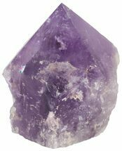 "3.3"" Polished Amethyst Crystal Point - Brazil For Sale, #46052"