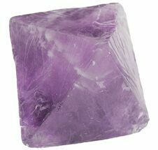 "1.81"" Fluorite Octahedral Crystal - Purple For Sale, #48440"