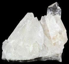 "6.9"" Large Clear Crystal Cluster - Brazil For Sale, #48389"