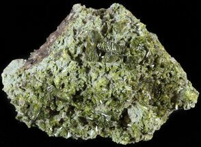 "Buy 2.7"" Lustrous, Epidote Crystal Cluster - Morocco - #49411"