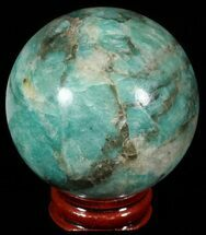Microcline var. Amazonite - Fossils For Sale - #51600