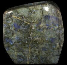 "12"" Flashy Polished Labradorite From Madagascar - 38 lbs For Sale, #51848"