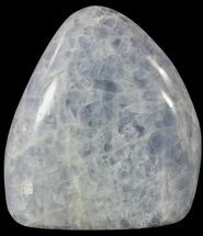 "4.2"" Polished, Blue Calcite Free Form - Madagascar For Sale, #54635"