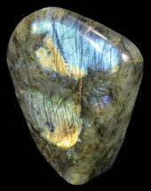 "Buy 4.7"" Tall, Flashy Polished Free Form Labradorite - #54931"