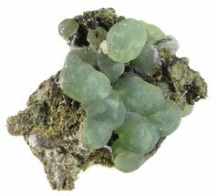 "Buy 2.5"" Prehnite Spheres with Epidote - Mali - #56104"