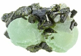 Prehnite & Epidote - Fossils For Sale - #56100