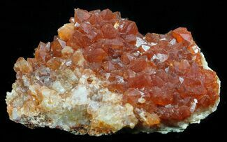 "Buy 2.2"" Natural, Red Quartz Cluster - Morocco - #57094"