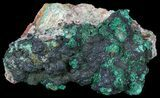"3.5"" Malachite on Matrix - Morocco - #57054-1"
