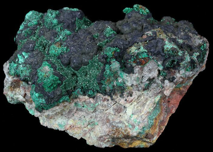 "3.5"" Malachite on Matrix - Morocco"