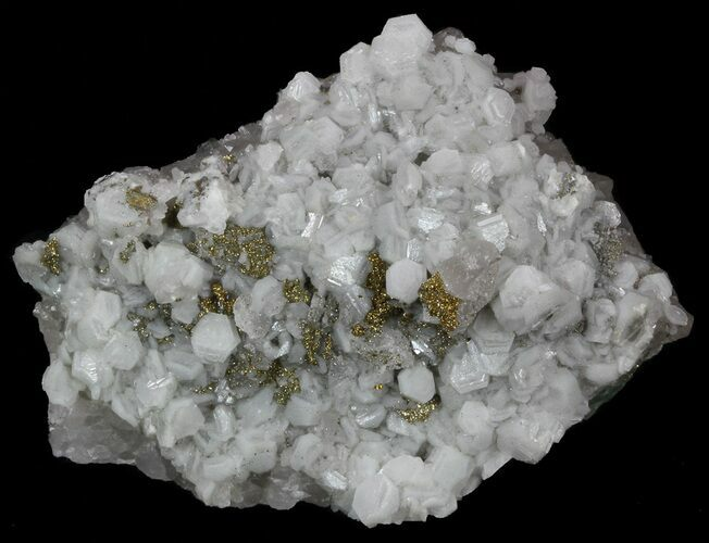 "3.5"" Calcite, Quartz, Pyrite and Fluorite Association - Morocco"