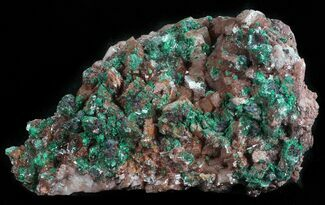 "3"" Malachite, Selenite and Ferroan Dolomite Association - Morocco For Sale, #57365"