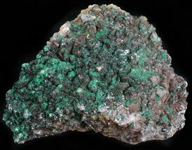 Malachite, Selenite & Dolomite - Fossils For Sale - #57369