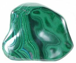"Buy 3.3"" Polished Malachite - Congo - #58177"