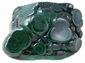 "Buy 3.5"" Polished Malachite - Congo - #58588"