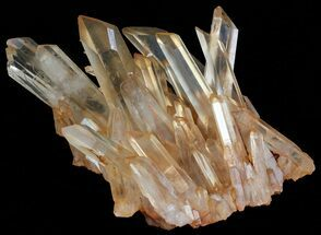 "5.7"" Tangerine Quartz Crystal Cluster - Madagascar For Sale, #58877"