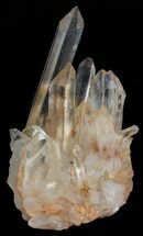 "3.5"" Tangerine Quartz Crystal Cluster - Madagascar For Sale, #58835"
