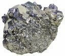 "3"" Gleaming Pyrite With Galena - Peru - #59593-1"