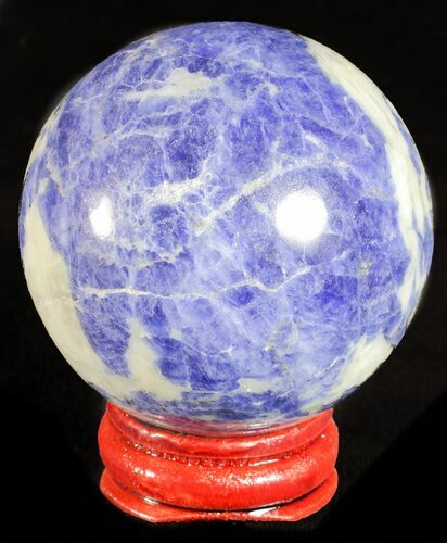 "1.9"" Polished Sodalite Sphere - Brazil"