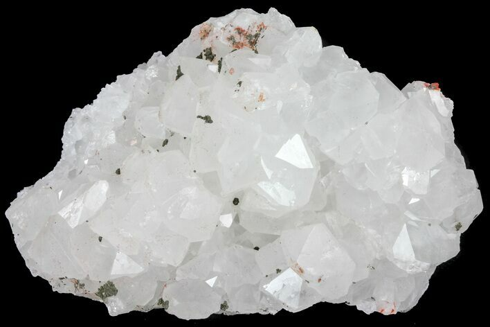 "2.7"" Quartz, Fluorite and Pyrite Crystal Association - Morocco"