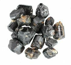 Bulk Black Tourmaline (Schorl) - 8 ounces For Sale, #61763