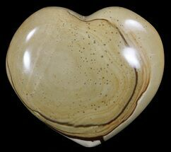 "3.4"" Polychrome Jasper Heart - Madagascar For Sale, #62495"