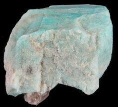 "Buy 1.5"" Amazonite Crystal with Smoky Quartz - Colorado - #61375"