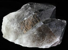 Quartz var Smoky - Fossils For Sale - #60762