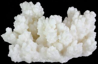 "5.5"" White Aragonite and Calcite Formation - Fluorescent For Sale, #62240"