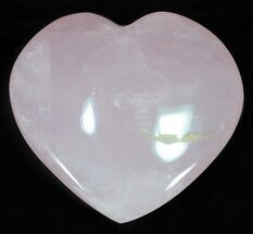 "3.7"" Polished Rose Quartz Heart - Madagascar For Sale, #63035"