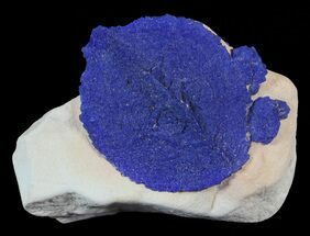 "Buy 1.5"" Brilliant Blue Azurite Sun On Rock - Australia - #63250"