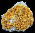 "2.9"" Orpiment With Barite Crystals - Peru - #63802-1"